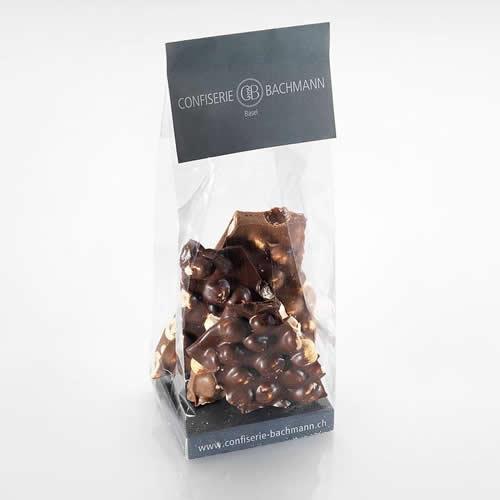 Bruschschokolade mit Haselnuss
