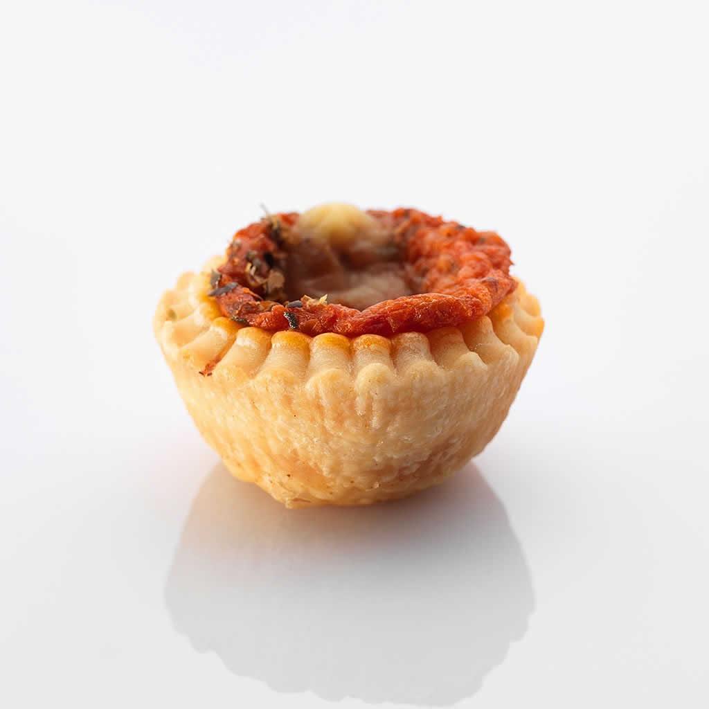 Aus dem Ofen: Mini-Pizza