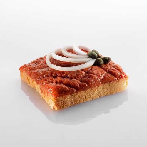 Canapé: Tartar