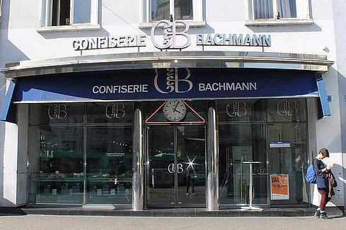 Confiserie Bachmann - Basler Bahnhof