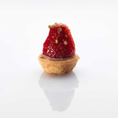 Patisserie:Fruchttoertli Erdbeere
