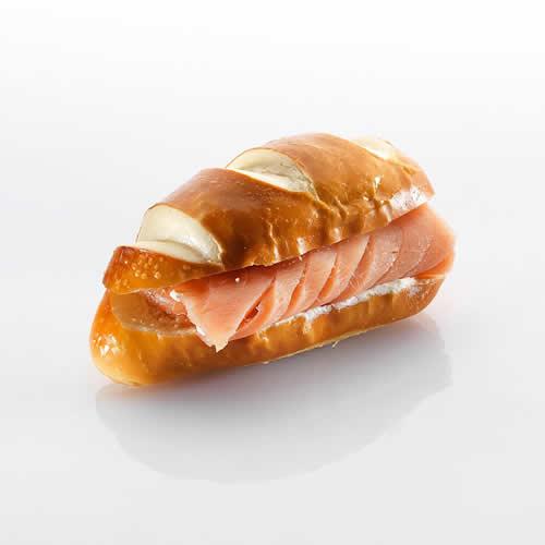 Mini-Sandwich: Lachsmigetti