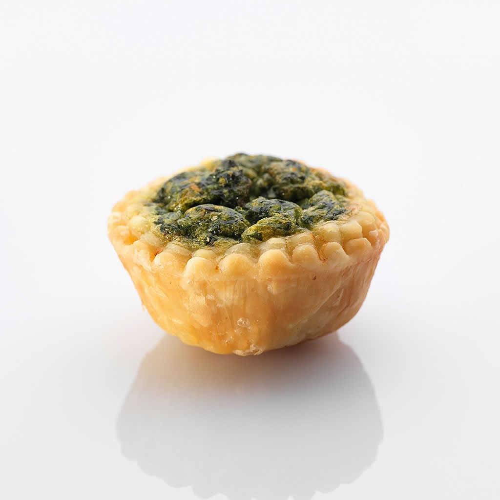 Aus dem Ofen : Mini-Spinatkuechli