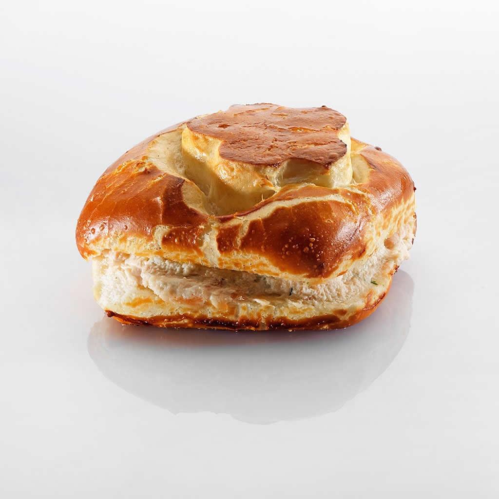 Sandwich: Lachs-Laugen-Carré