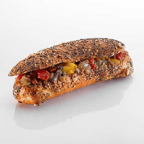 Sandwich: Provencale im Tomaten-Olivenbroetli
