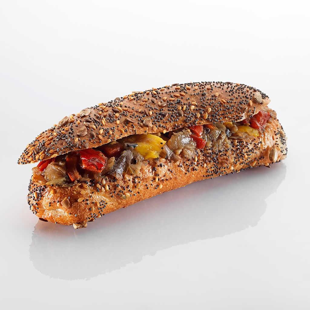 Sandwich: Provençale im Tomaten-Olivenbrötli