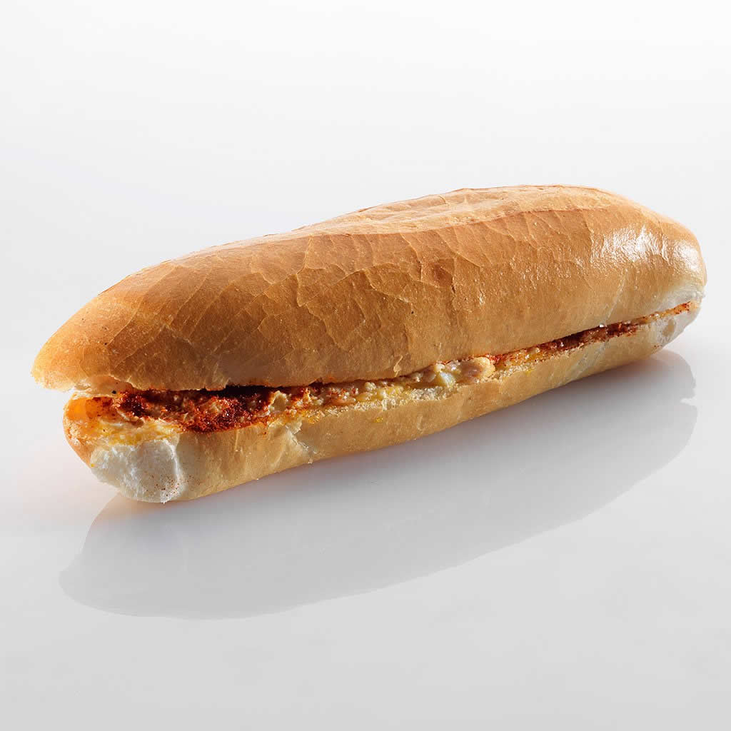 Sandwich: Schinken-Ei