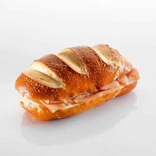 Sandwich: Silserli mit Lachs
