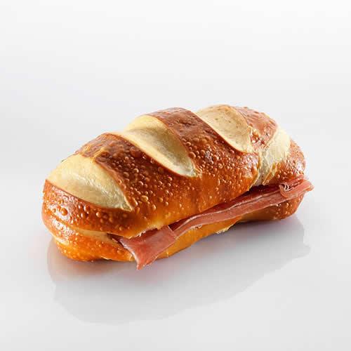 Sandwich: Silserli mit Rohschinken